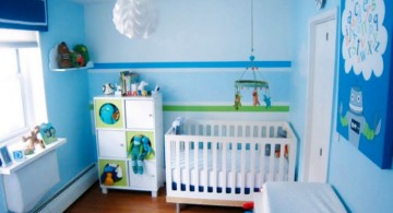 light blue baby boys blue room