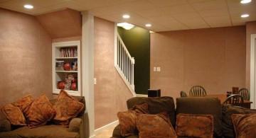lighting ideas for basement as family room