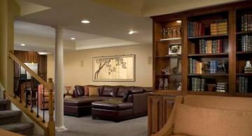 lighting ideas for basement as second living room
