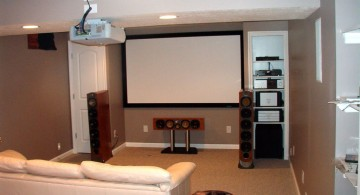 lighting ideas for basement with hanging lamp