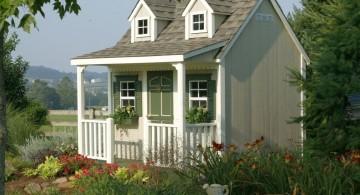 little cottage luxury outdoor playhouse