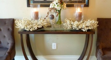 low small entry table ideas with unique legs