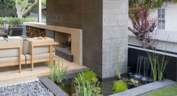 low walled landscape fountain design ideas for indoors and outdoors