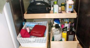 make up storage cabinet ideas under the sink