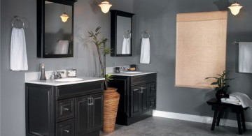 master bathroom lighting ideas with pendant style lamps
