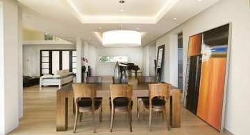 minimalist Different Ceiling Designs for apartments