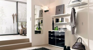 minimalist and industrial modern hallway decorating ideas