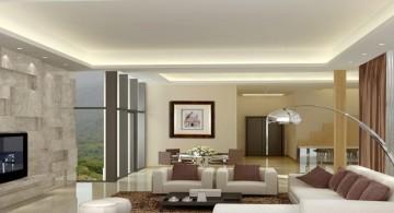 minimalist ceiling design ideas for living room
