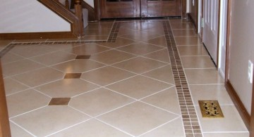 minimalist cream colored tile flooring ideas for living room