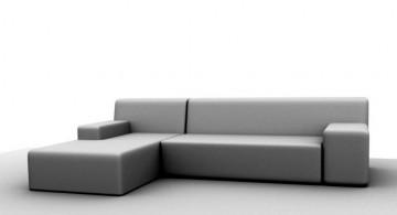 minimalist modern furniture in grey