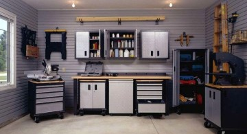 minimalist modern garage designs and inspiration in black and white