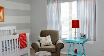 minimalist modern nursery room design ideas
