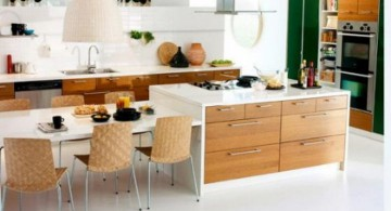 minimalist modular kitchen designs for open floor kitchen and dining room