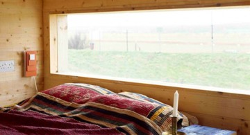 minimalistic cabin bedroom decorating ideas