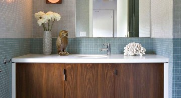 modern Bathroom vanity lighting ideas for limited space