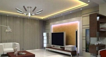 modern and luxurious ceiling design ideas for living room