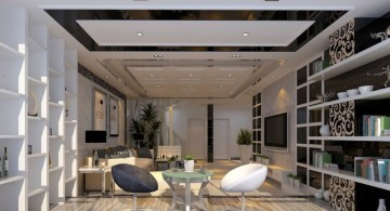 modern and minimalist ceiling design ideas for living room