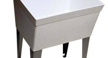 modern and minimalist stand alone kitchen sink