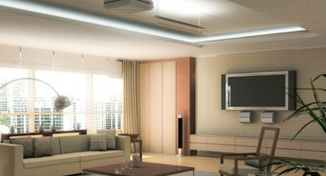 modern ceiling design ideas for living room