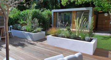 modern deck design that great for backyard