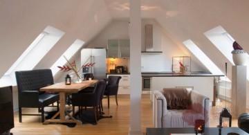 modern living room with skylight ideas