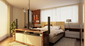 modern mens bedroom for small rooms