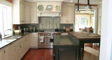 modern painted floors inspiration for kitchen and dining room