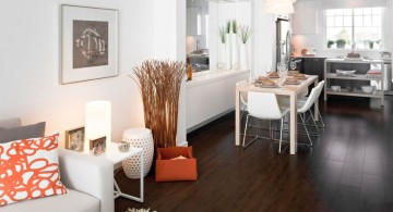 modern painted floors inspiration for small apartment