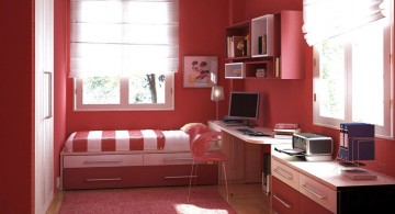 nice rooms for girls in narrow space