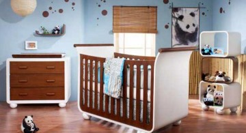 panda themed cool painting ideas for bedrooms