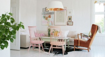 pastel-colored room designs for small space