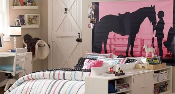 picture silhouette pink and black wall decor
