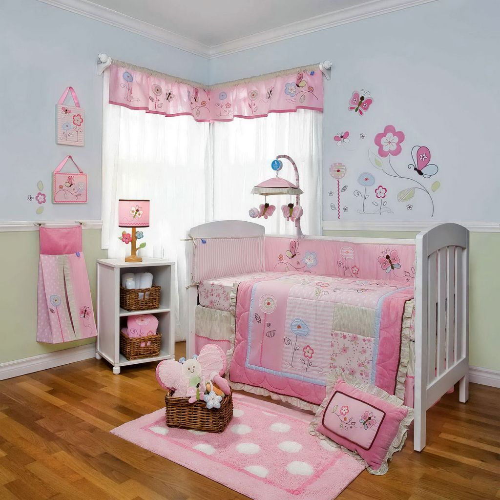 Delightful Newborn Baby Room Decorating Ideas: 20 Cutest Themes For Pink Baby Room Ideas