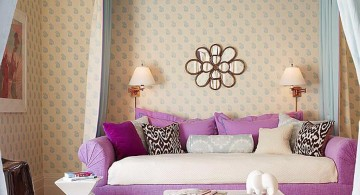 pretty girl bedrooms with long curtains
