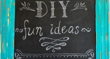 repurposing old frame for chalkboard writing ideas