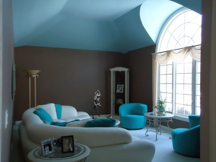 turquoise walls living room 17 breathtaking turquoise living room ideas 14979