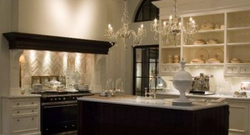romance looking with dark wood and white popular paint colors for kitchen