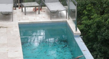 rooftop lap pool designs