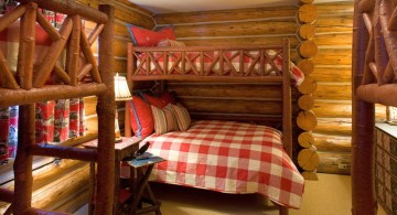 rustic bed plans for bed bunks in BnB