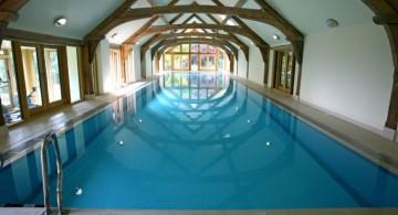 rustic indoor swimming pool