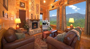 rustic living room ideas outlooking great view