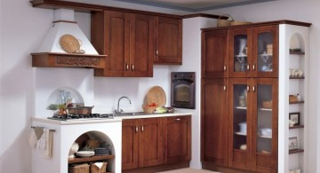 rustic modular kitchen designs