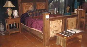 rustic nightstand tuscan style bedroom furniture