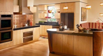 rustic popular paint colors for kitchen