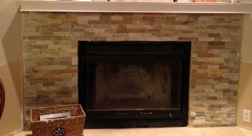 short stack stone fireplaces