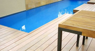 simple and minimalist lap pool designs