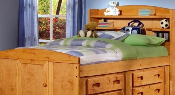 simple and multipurpose rustic bed plans