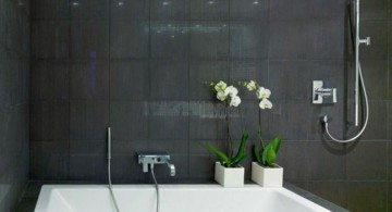 simple black bathrooms ideas for small space