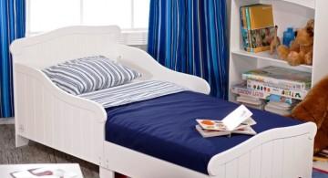 simple boys blue room