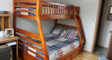simple bunk beds rustic bed plans